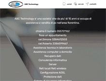Tablet Preview of abctech.it